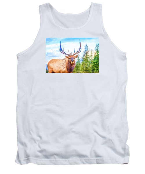 King Of The Forest Tank Top
