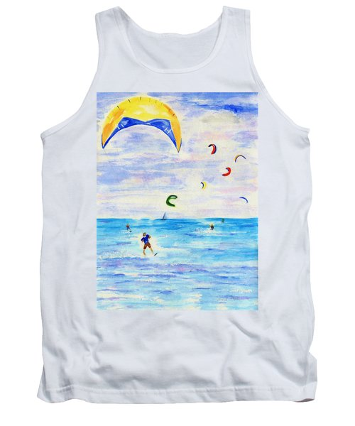 Kite Surfer Tank Top