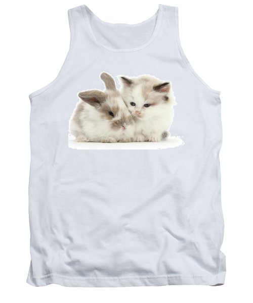 Kitten Cute Tank Top