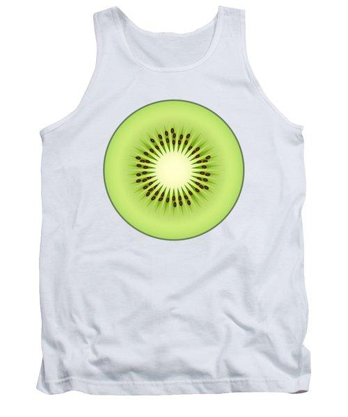 Kiwi Fruit Tank Top by Miroslav Nemecek