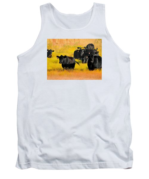 Knee High In Color Tank Top by Laura Ragland