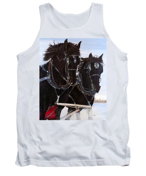 Knights On Four Tank Top
