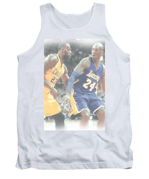 Kobe Bryant Lebron James 2 Tank Top