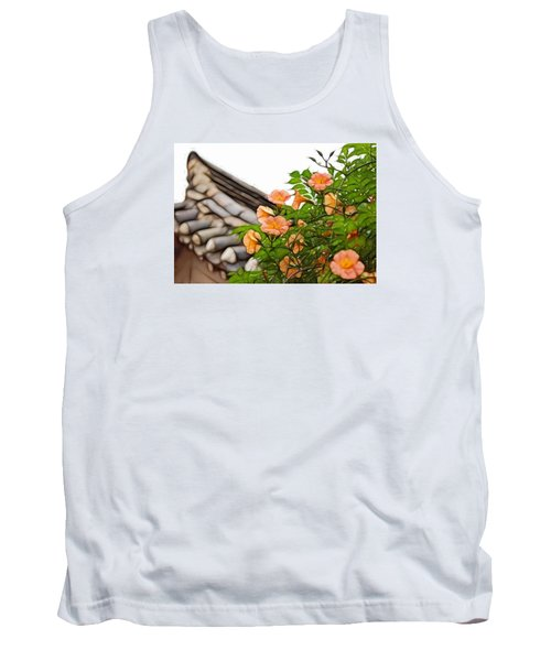 Tank Top featuring the photograph Korean Beauty by Cameron Wood