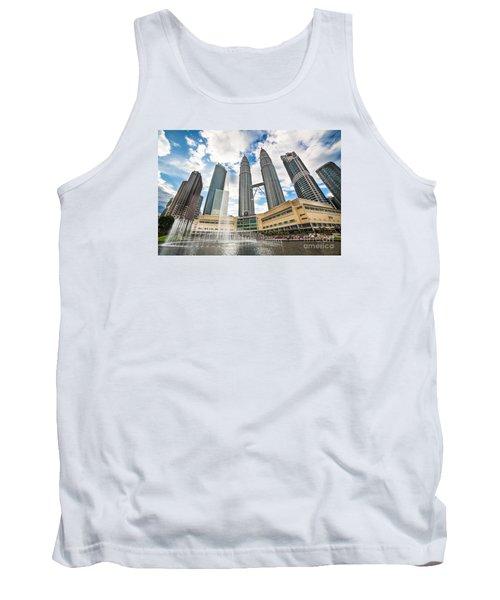 Kuala Lumpur Petronas Towers Tank Top
