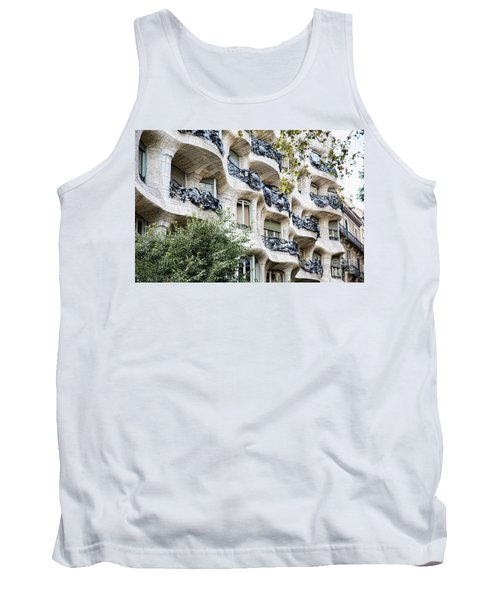 La Pedrera Casa Mila Gaudi  Tank Top