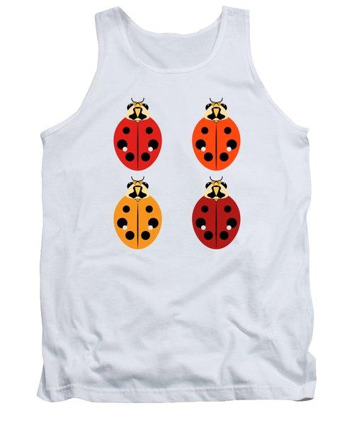 Ladybug Quartet Tank Top
