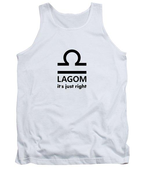 Lagom - Just Right Tank Top