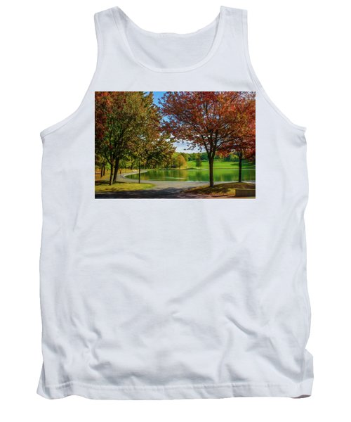 Lagoon Park In Montreal Tank Top
