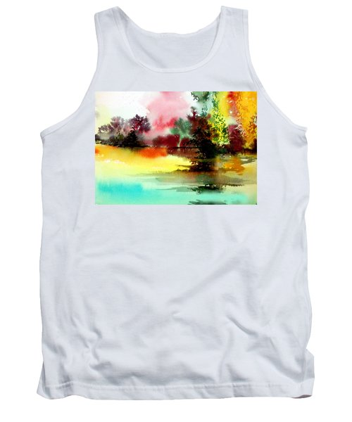 Lake In Colours Tank Top