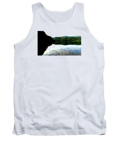 Lake Padden Cloud Reflection Tank Top