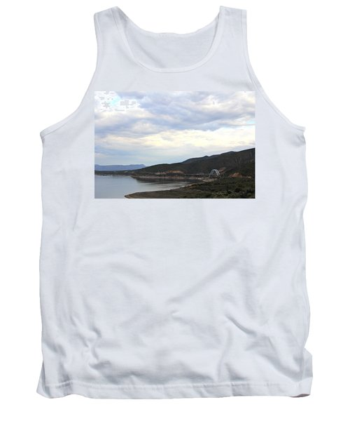 Lake Roosevelt Bridge 1 Tank Top