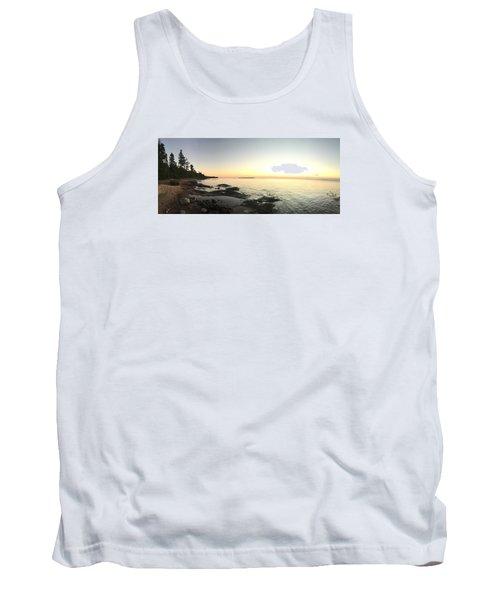Lake Superior Evening Sky Tank Top