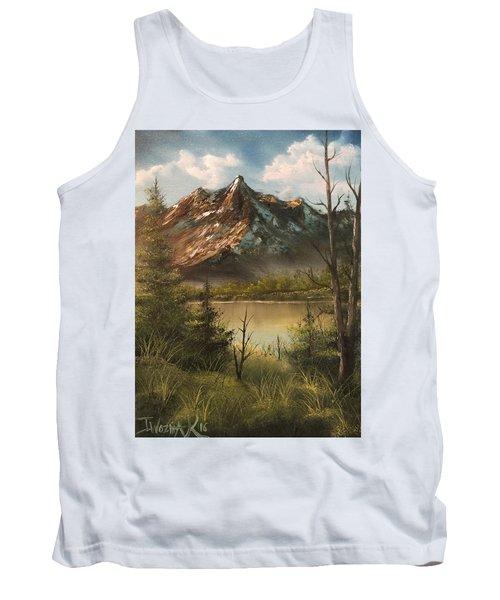 Lake View Mountain  Tank Top