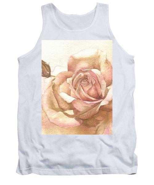 Lalique Rose Tank Top