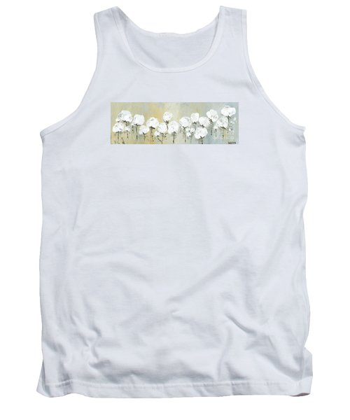 Land Of Cotton Tank Top by Kirsten Reed