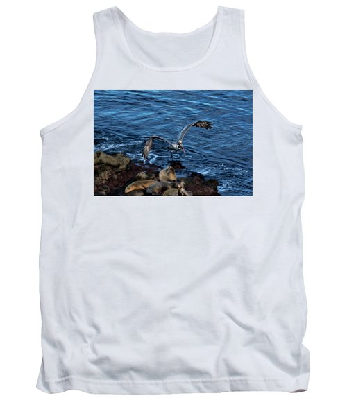 Landing Fly-by Tank Top