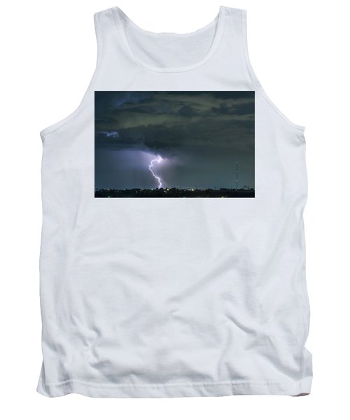 Tank Top featuring the photograph Landing In A Storm by James BO Insogna