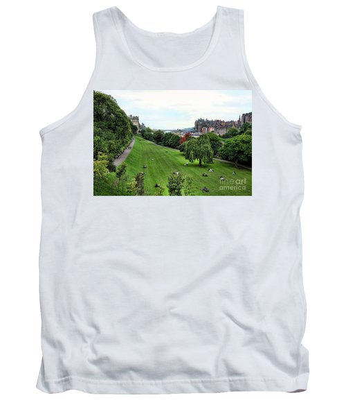 Landscape Edinburgh  Tank Top