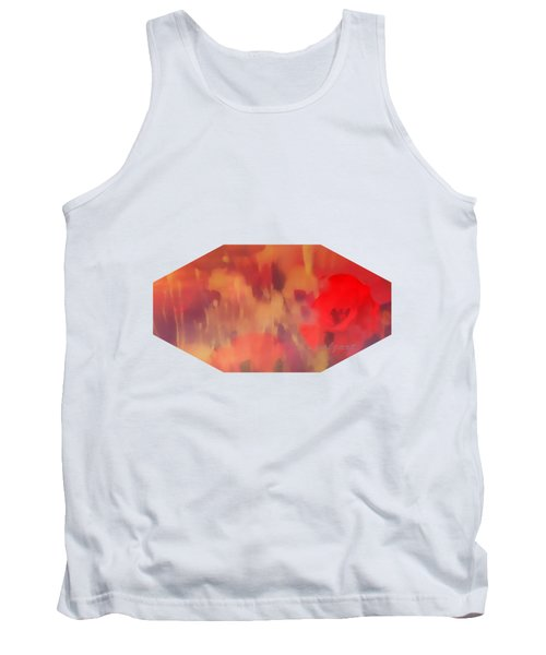 Landscape Of Dreaming Poppies Tank Top