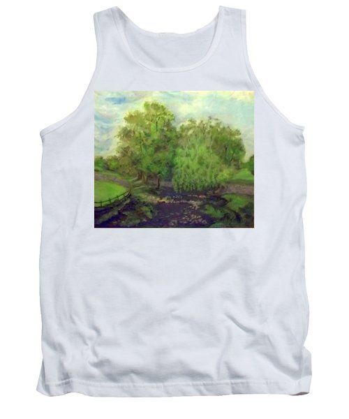 Landscape With Trees Tank Top