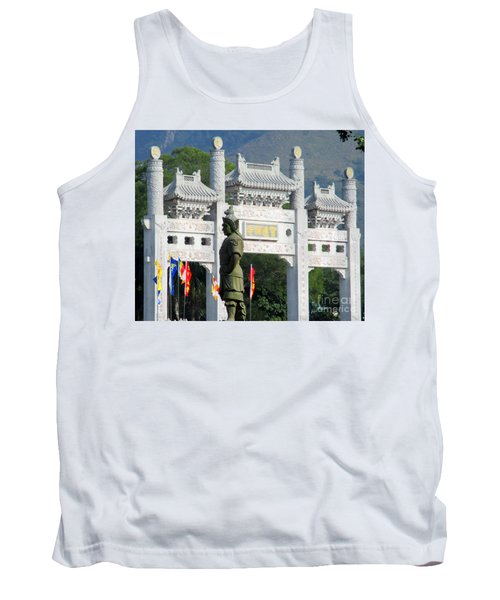 Tank Top featuring the photograph Lantau Island 51 by Randall Weidner