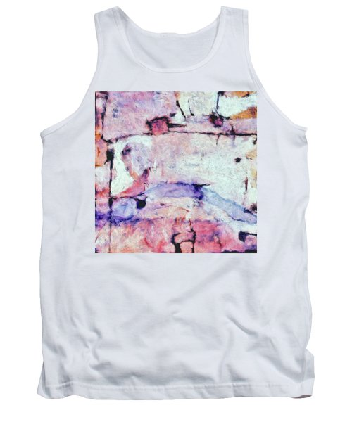Tank Top featuring the painting Laredo by Dominic Piperata