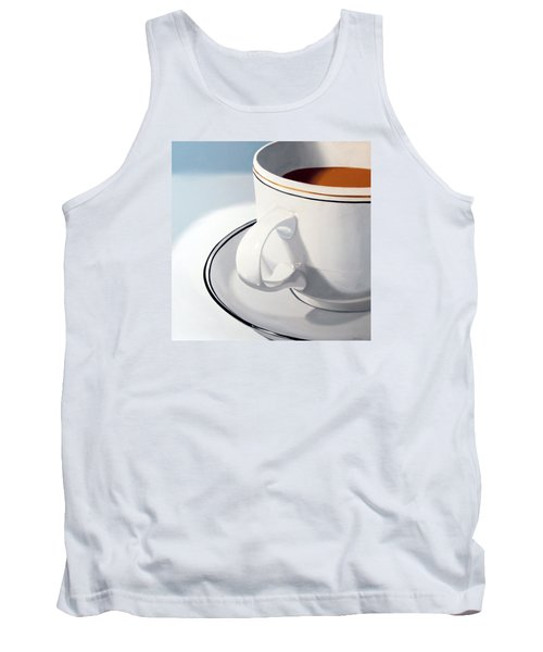 Large Coffee Cup Tank Top by Mark Webster