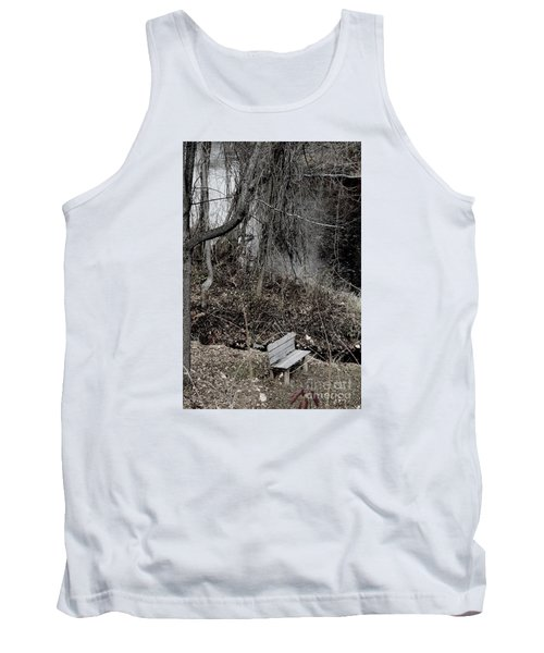 Last Available Seating Tank Top by Jesse Ciazza