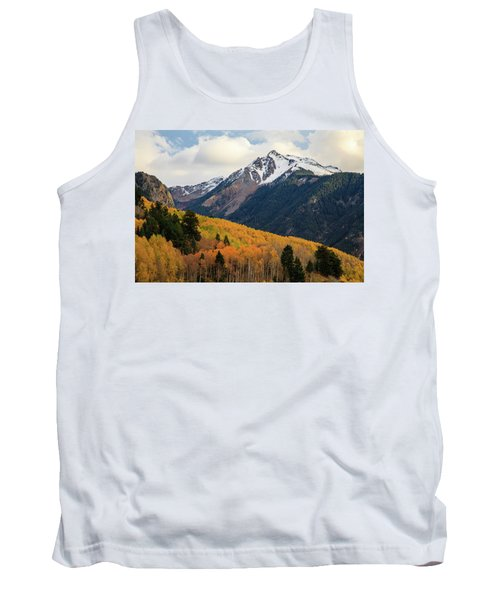 Tank Top featuring the photograph Last Light Of Autumn by David Chandler