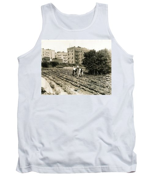 Tank Top featuring the photograph Last Working Farm In Manhattan by Cole Thompson