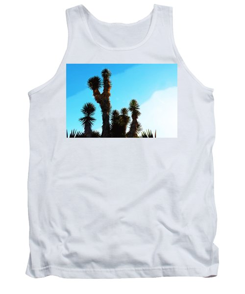 Late Afternoon Cactus Tank Top