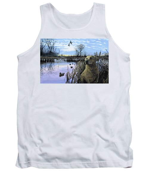 Late Season Mallards Tank Top