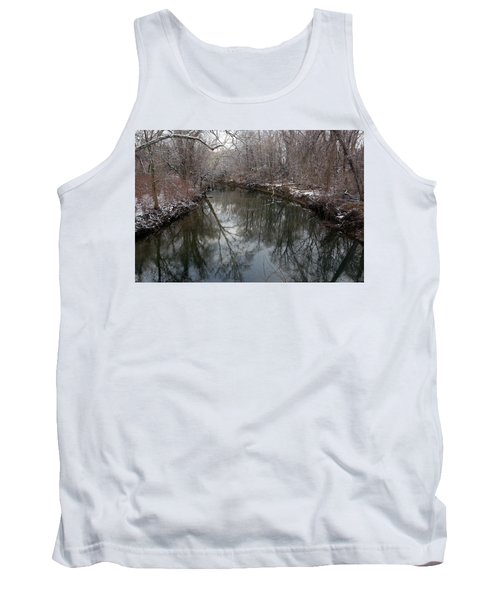 Tank Top featuring the photograph Late Winter In Philly by Dorin Adrian Berbier