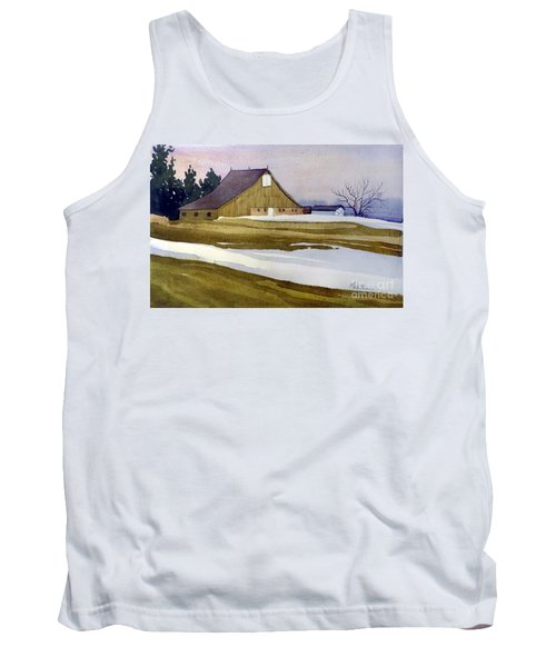 Late Winter Melt Tank Top by Donald Maier
