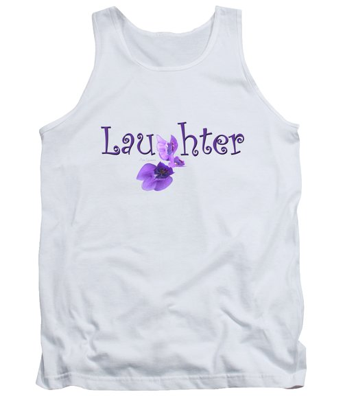 Laughter Shirt Tank Top