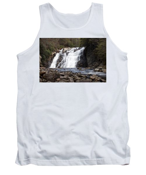 Tank Top featuring the photograph Laurel Falls In Spring #1 by Jeff Severson