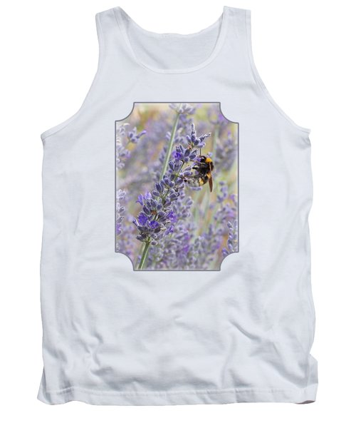 Lavender Bee Tank Top