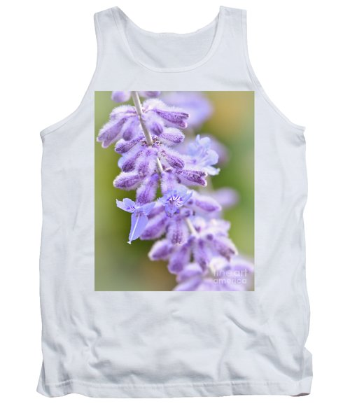 Tank Top featuring the photograph Lavender Blooms by Kerri Farley