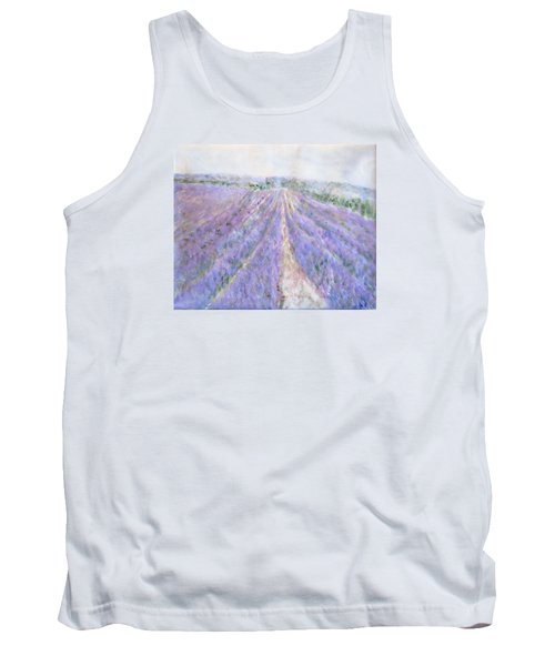 Lavender Fields Provence-france Tank Top