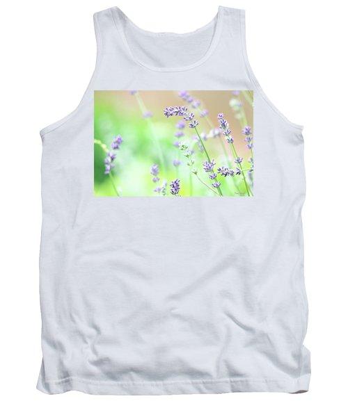 Lavender Garden Tank Top by Trina Ansel