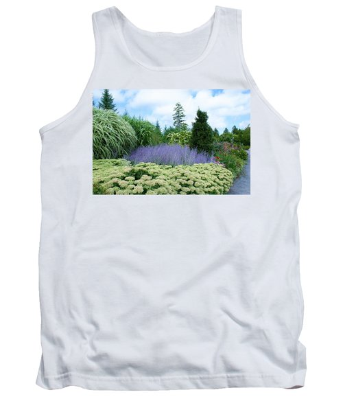 Tank Top featuring the photograph Lavender In The Middle by Lois Lepisto