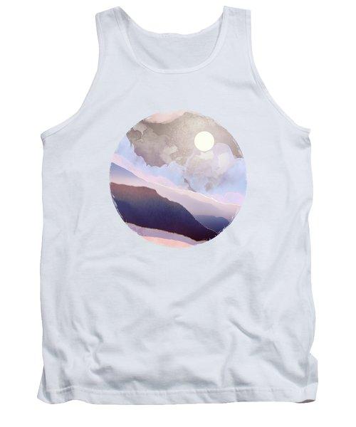 Lavender Night Tank Top