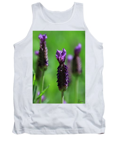 Lavender Spike Tank Top