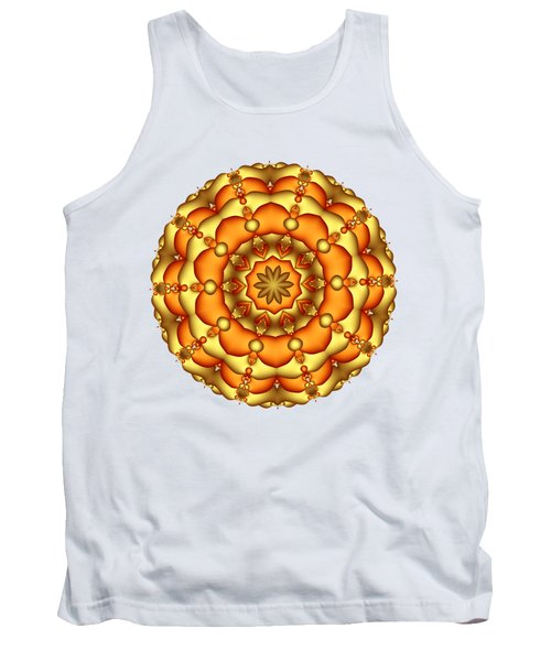 Layers Of Gold Tank Top