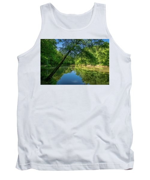 Lazy Summer Day On The River Tank Top