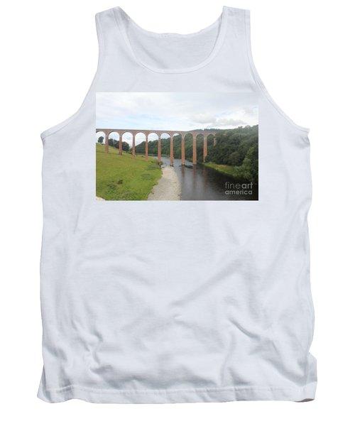 Leaderfoot Viaduct Tank Top by David Grant
