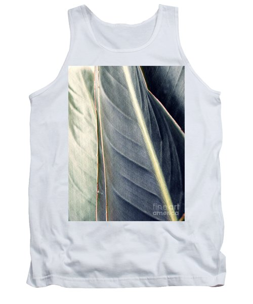 Leaf Abstract 14 Tank Top by Sarah Loft