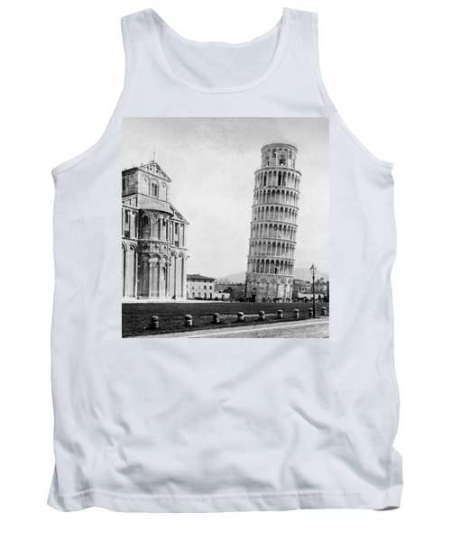 Leaning Tower Of Pisa Italy - C 1902  Tank Top by International  Images