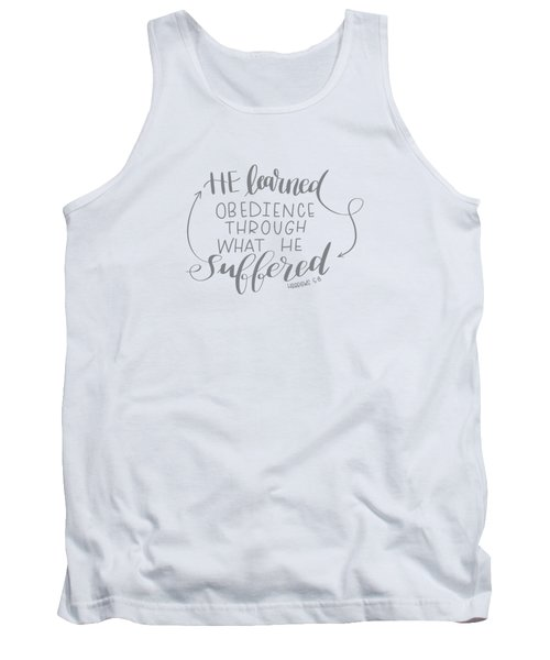 Learn From Suffering Tank Top